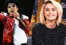 paris jackson's topless to flaunt her OM tattoo