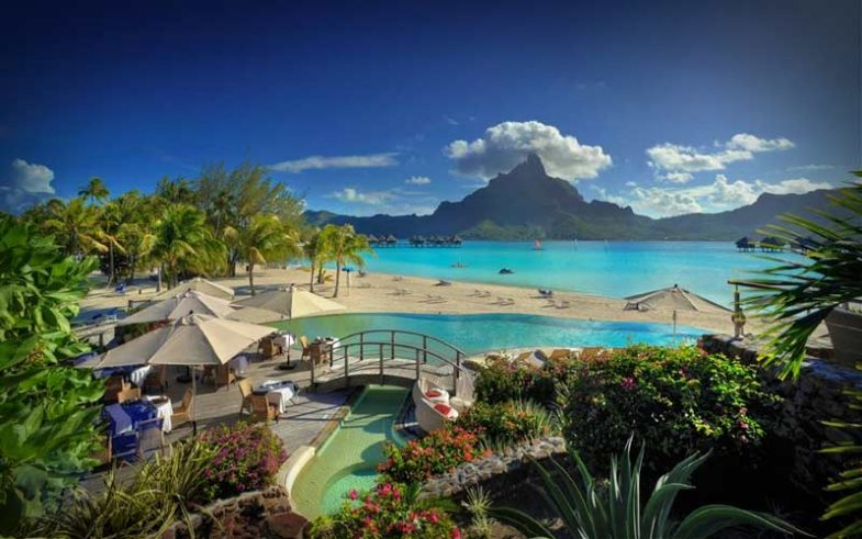 Bora Bora, French Polynesia one of the most romantic honeymoon destination