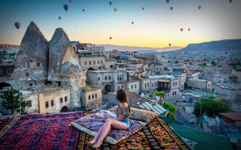top 10 honeymoon destination, romantic Cappadocia, Turkey