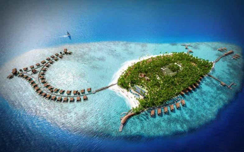 one of the top 10 honeymoon destination, romantic maldives