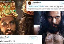 Baahubali Director SS Rajamouli Tweet on Padmawati and Ranveer Singh