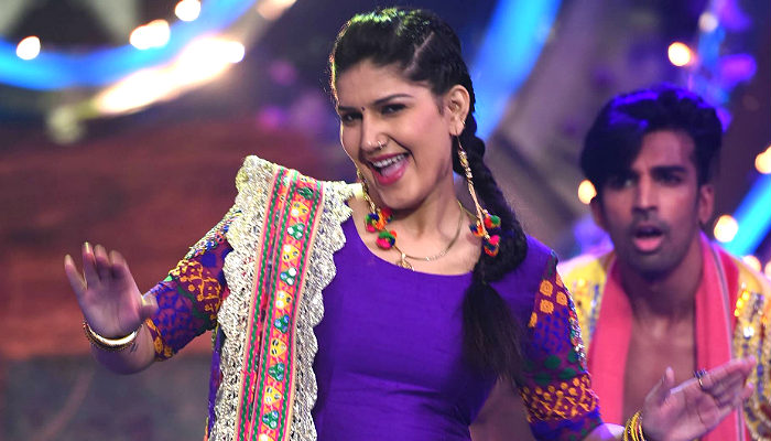 Sapna chaudhary in Bigg Boss 11 house