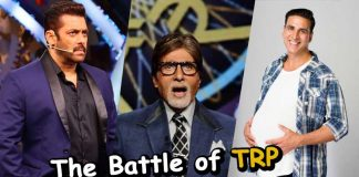The Battle of TRP between Salman Khan, Akshay Kumar and Amitabh Bachchan check out who is the winner