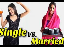Single Vs Married Life By Rikshawali
