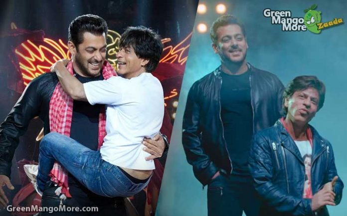 Salman khan and Shahrukh Khan back together after 10 years for zero's Eid Song- Teaser out