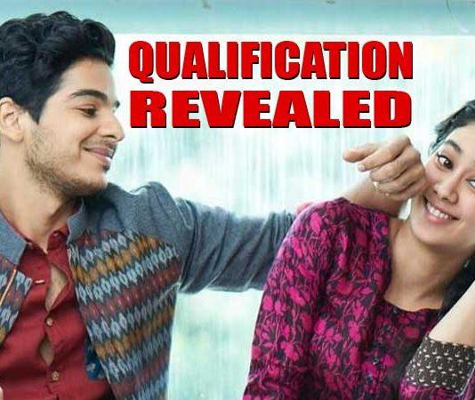 qualification revealed of Janhvi Kapoor and Ishaan Khattar