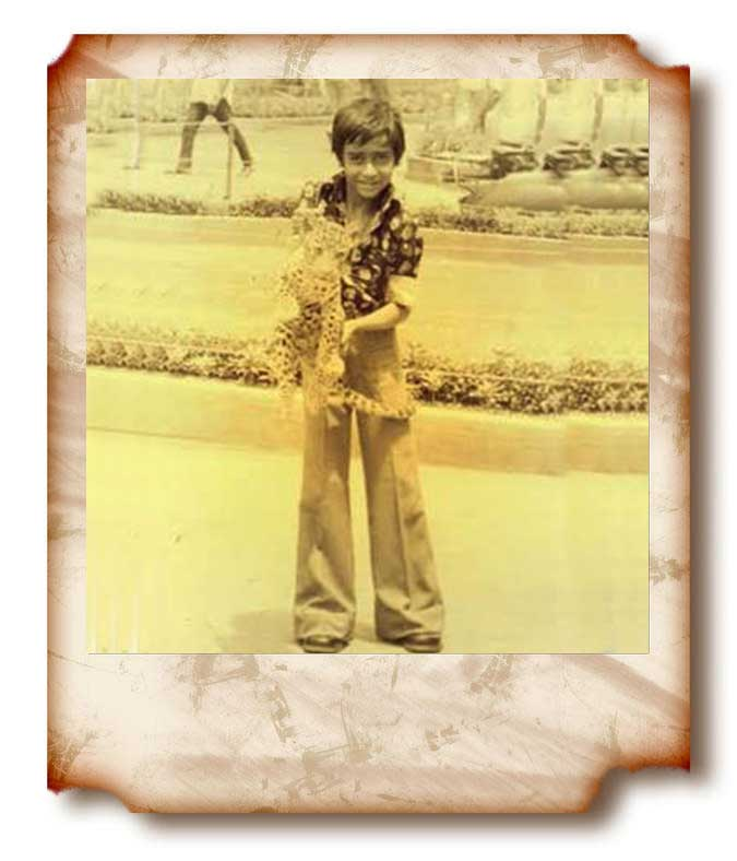 Ajay Ddevgan young unseen picture