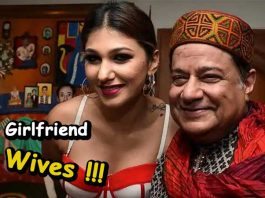 anup jalota was married thrice before having a girlfriend