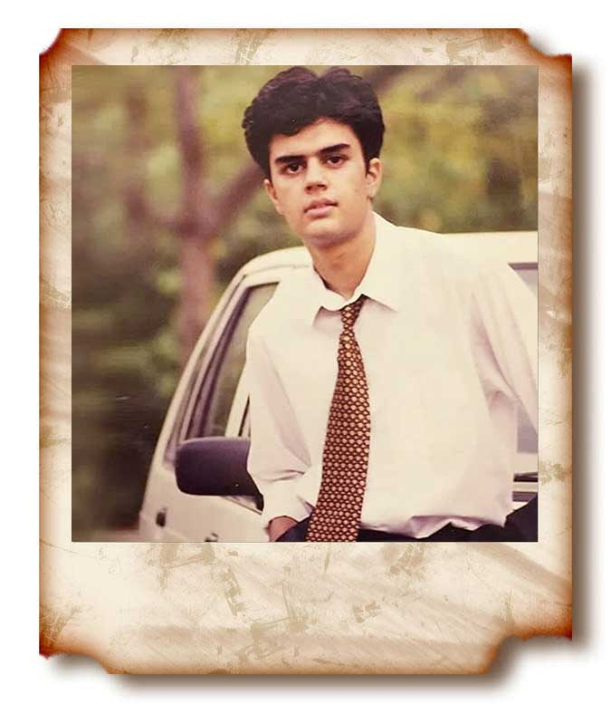 Manish Paul young unseen picture