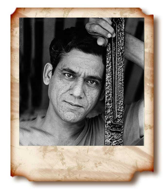 Om puri young unseen picture