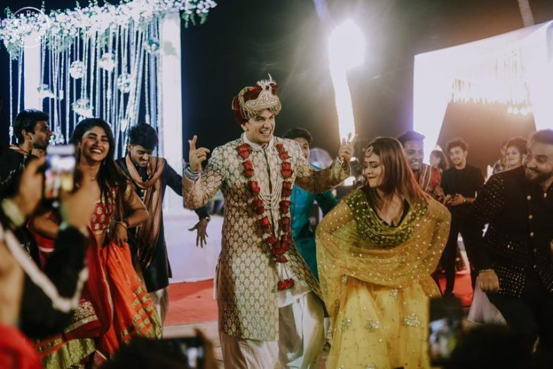 Prince Narula Dancing on his wedding