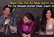Shahrukh Khan Funny Reply on Deepika-Ranveer's Wedding