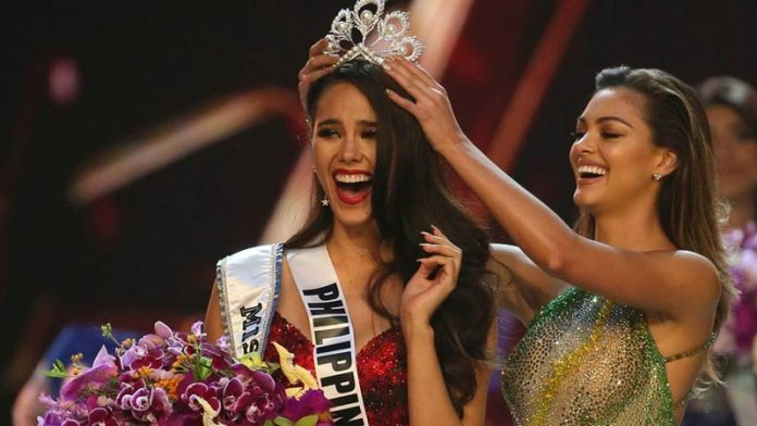 Miss Universe Catriona Gray, of Philippines