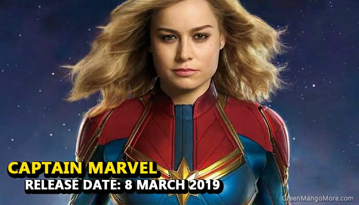 Captain Marvel Hollywood movie 2019
