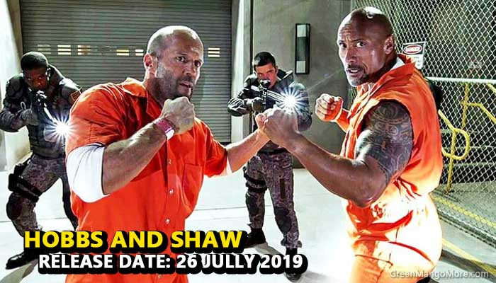 Fast and Furious: Hobbs and Shaw Hollywood movie 2019