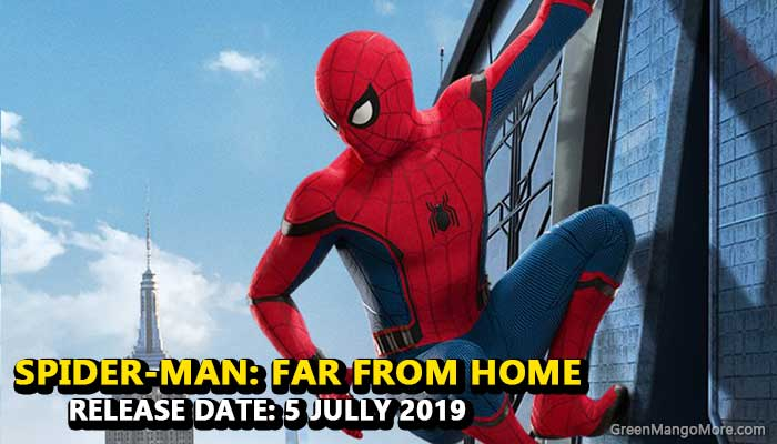 Spider-Man Far from home Hollywood movie 2019