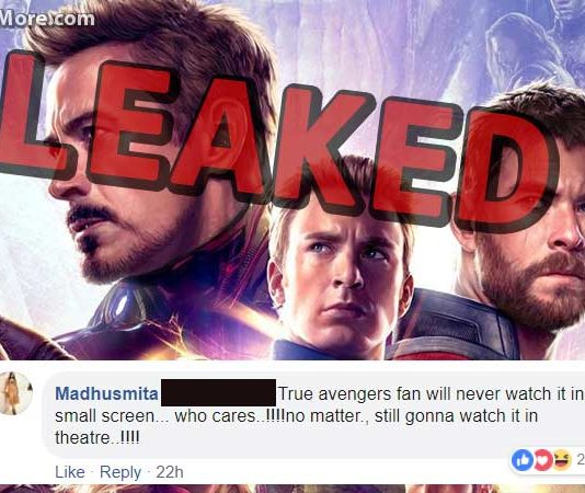 Fans Reaction on Avengers Endgame Piracy by TamilRockers