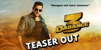 Most Awaited Salman Khan's Dabangg 3 Teaser Out