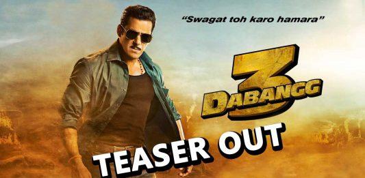 Most Awaited Salman Khan's Dabangg 3 Teaser Out