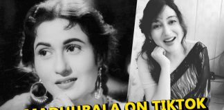 Look a like of Madhubala found on TikTok