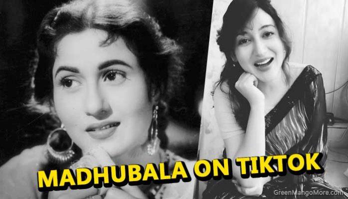 Look a like of Madhubala found on TikTok