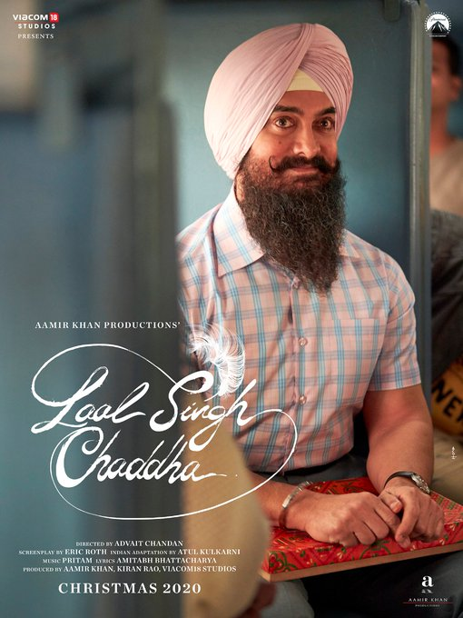 Aamir Khan's Look Officially Revealed of Laal Singh Chaddha