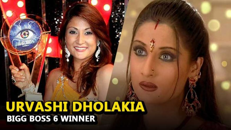 Urvashi Dholakia Bigg Boss Season 6 Winner