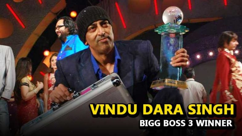 Bigg Boss Season 3 Winner Vindu Dara Singh