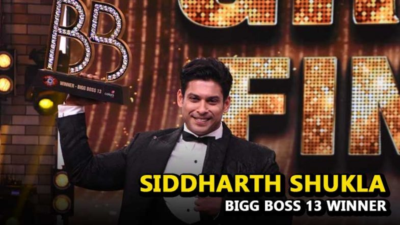 Bigg Boss Season 13 Winner Siddharth Shukla